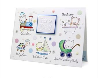 It's a Boy -Baby Boy Card [BB-4]