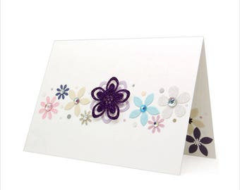 Everyday Flowers Card - Just because card [ED-4]