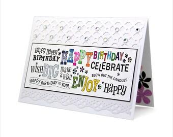 Happy Birthday - Birthday card [BD-4]