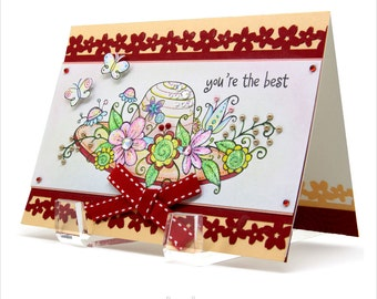 You're the best - Thinking of you card [U-3]