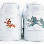 Custom Nike Air Force 1 - Hand Painted Nike Shoes - Cartoon Nike's
