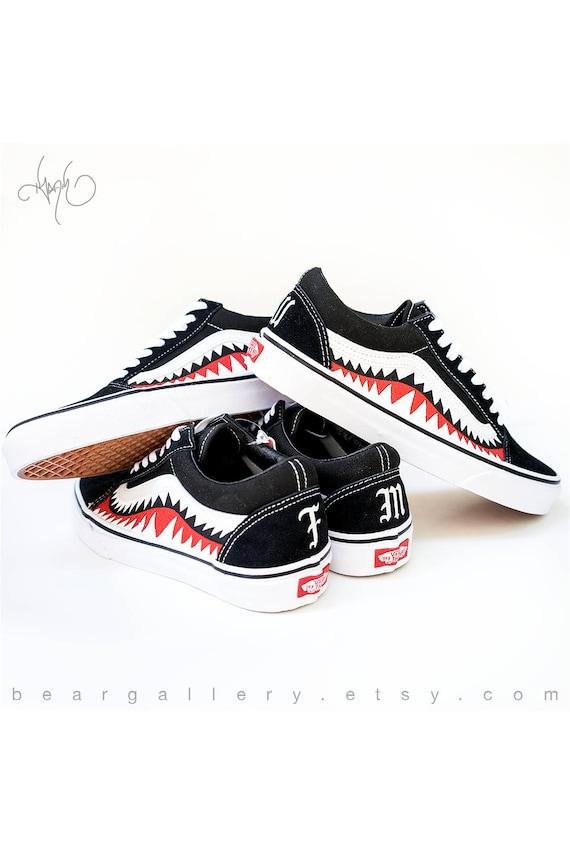 scarpe vans stampate personalizzate