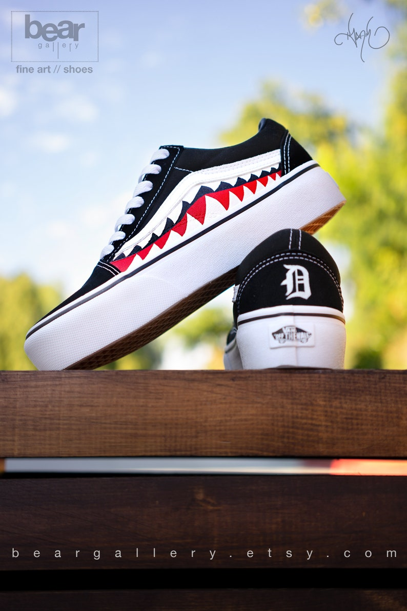 697d7142346 Custom Platform Bape Vans Shoes with Initials Platform Bape