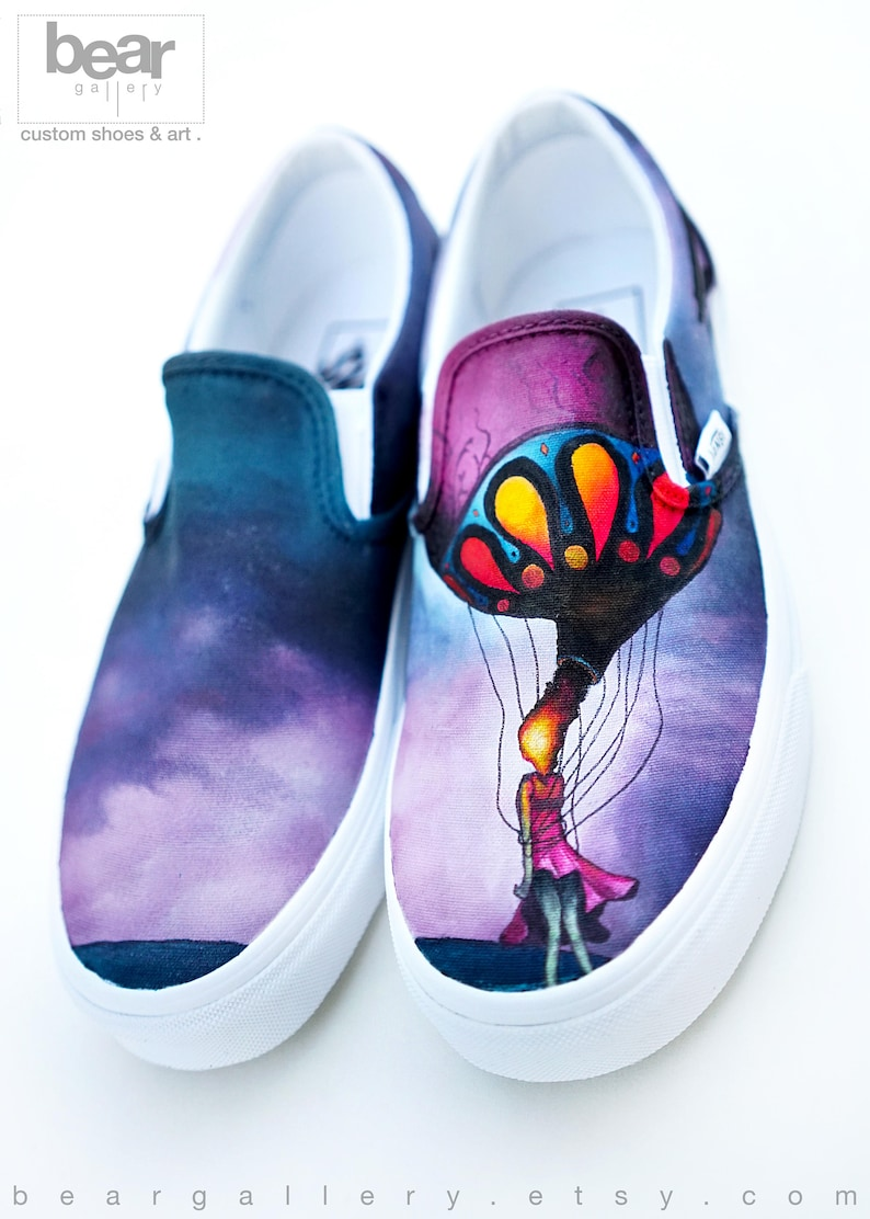 232bb41e60ac3a Custom Painted Circa Survive Vans Shoes Hand Painted On