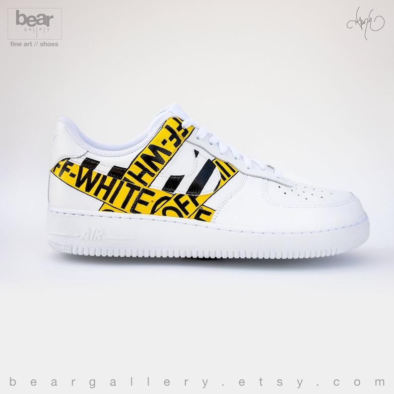 Oqderbwcxe 1 À Force Main Air Nike Custom La Chaussuresetsy oBdxrCe