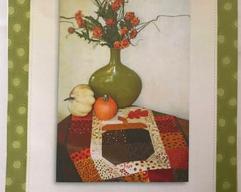 Acorn Alley Small Table Topper Quilt Kit QUILTSY DESTASH PARTY