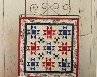 Mini Star Block Quilt Pattern by This and That QUILTSY DESTASH PARTY