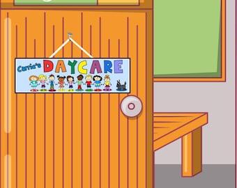 daycare sign etsy