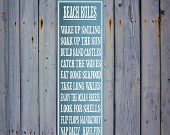 Beach Island Rules Etsy