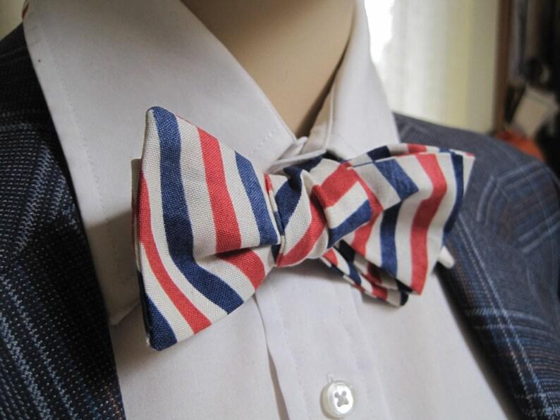 Mr Skinny Barber Shop Pole Bow Tie