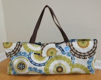 Xlarge Yoga Bag with Quilted lining-Made to Order.