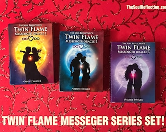 Twin Flame Messanger Series Set 1,2,3 - from The Soul Reflection