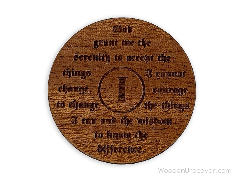 Narcotics Anonymous Stealie Recovery Token NA Clean Time Anniversary Gift Unique 12 Step Gifts NA Grateful I/'m Not Dead Medallion