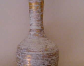 Vintage 22K Gold Tweed Art Pottery by Royal Haeger