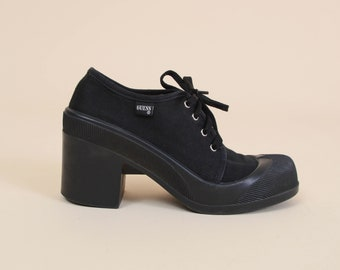 6063bffb80f Vintage 90s Black GUESS Shoes