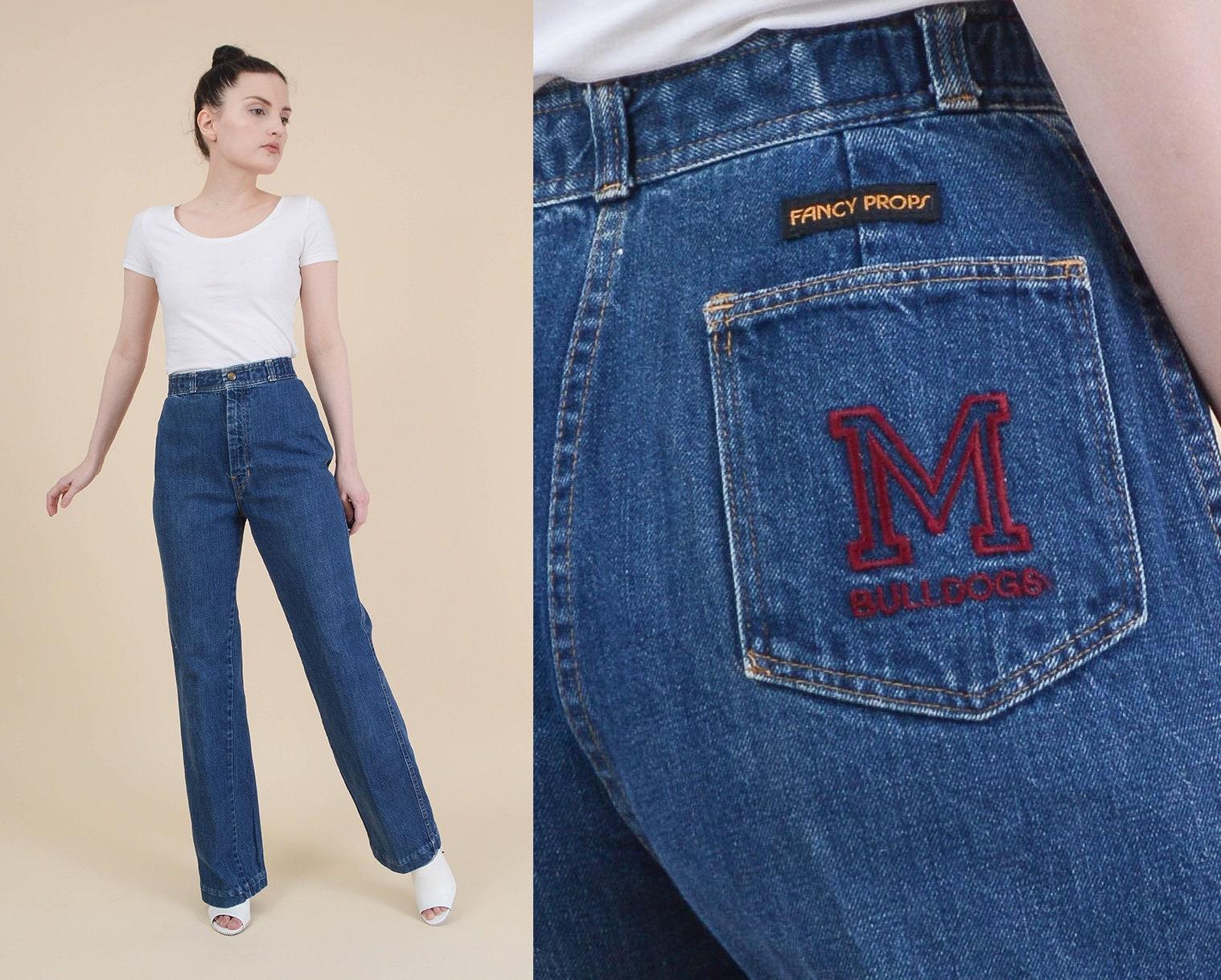 70s Fancy Dress Jeans - raveitsafe