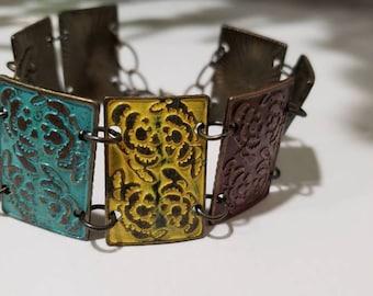 Tile Cuff Bracelet