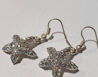 Shimmering Starfish Earrings