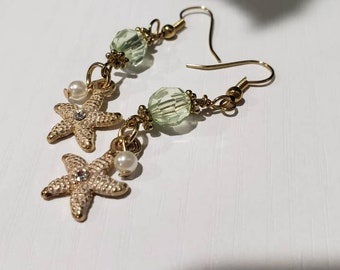 Seaside Starfish Drop Earrings