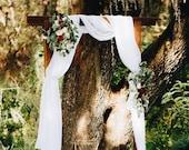 Custom fresh wedding flow...