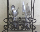 Vintage farmhouse utensil...