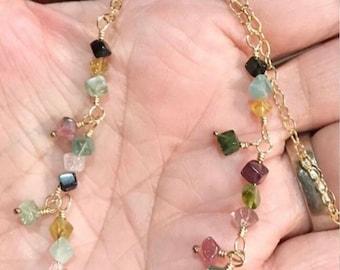 Tourmaline Necklace handmade by Nature's Splendour