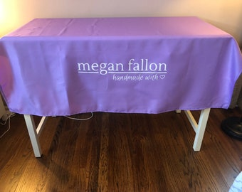 Cool Custom Tablecloth Etsy Home Remodeling Inspirations Cosmcuboardxyz