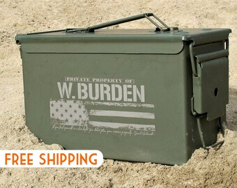 Fathers Day Gifts for Dad Husband Boyfriend Gift for Men Ammo Box