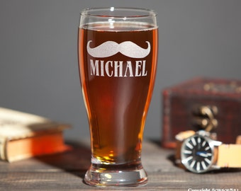 Groomsmen Gifts Wedding Party Gifts Personalized Groomsman Gift Custom Beer Glasses Set of 6 Groom Gift Cool Groomsmen Gifts Beer Wedding