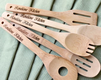 Wooden Spoons, Coworker Christmas Gift, Teacher Christmas Gifts, Personalized