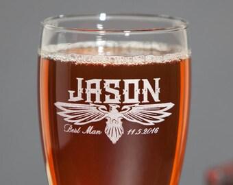 Best Man Beer Mug, Best Man Proposal, Will you be my Best Man, Groomsmen Beer Mug, Set of 2, Groomsmen Beer Gifts