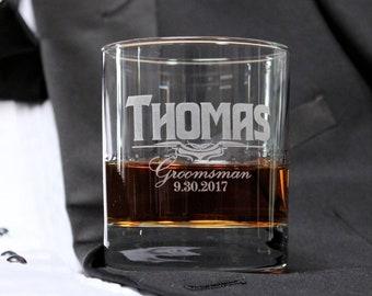 Custom Groomsmen Glasses, Best Man Gifts, Beer Mugs for Groomsmen, Groom Gifts, Personalized Groomsmen Whiskey Glasses