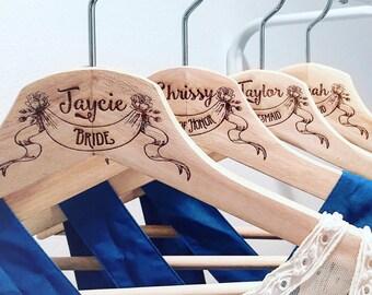 Wedding Hanger, Personalized, Bride Hanger, Wedding hanger engraved, Wedding Dress Hanger, Bridal Hangers, Personalized Wedding Hangers
