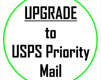 USPS Priority Mail UpGrade for previous Ammo Can Purchase