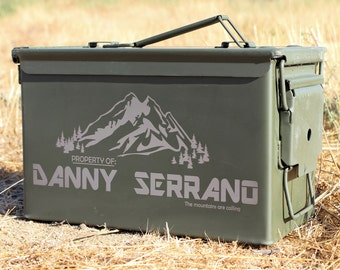 Birthday Gift For Him Ammo Can Custom Hunting Men Box Metal Storage Dad