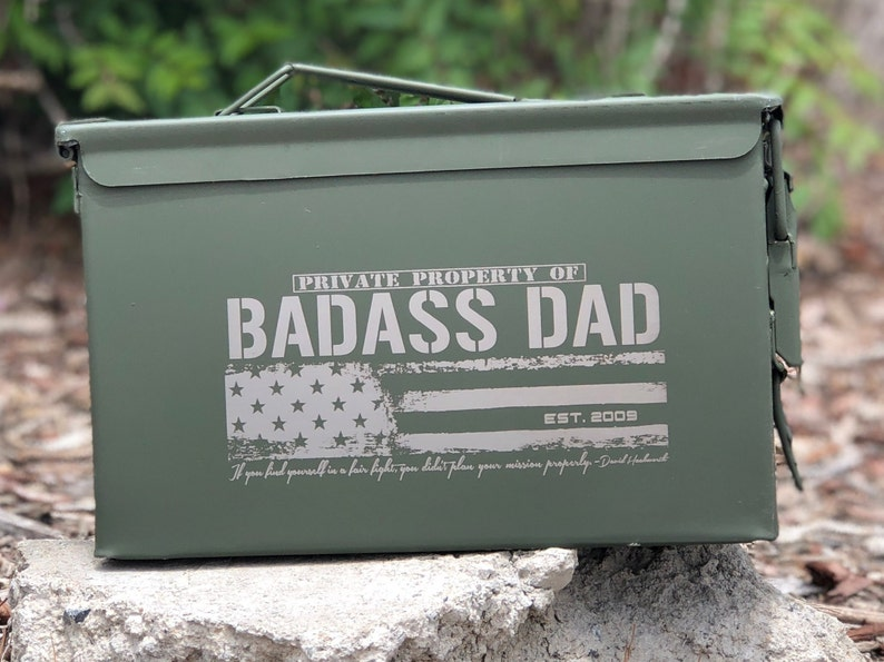 97e4090e94805 Ammo can Birthday gift Mens gift Personalized ammunition
