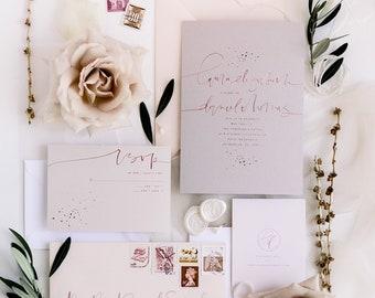 The Laura - Foil Splatter Suite Sample Pack