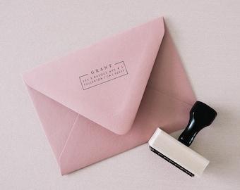 Custom Address Stamp - Boxed
