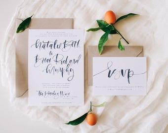 The Natalie - Invitation Suite Sample Pack