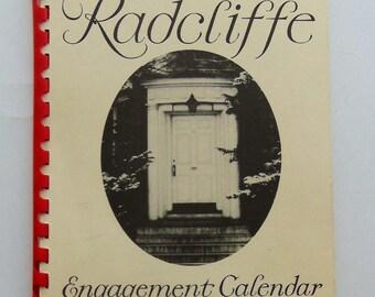 1948 Radcliffe Engagement Calendar