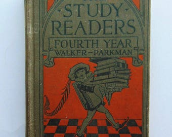 1924 The Study Readers Fourth Year