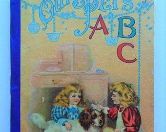 1890's Our Pet's ABC