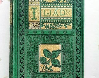 1800's Iliad of Homer Translated By Alexander Pope