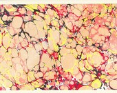 Marbled Paper Note Card - Large
