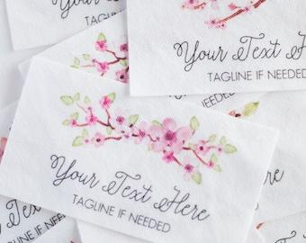 decorative fabric labels