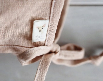 Fold Over Labels - Custom Clothing Labels for Handmade Items on Organic Cotton