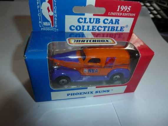 Phoenix Suns 1995 Matchbox Diecast 39 Chevy Sedan Nba Etsy