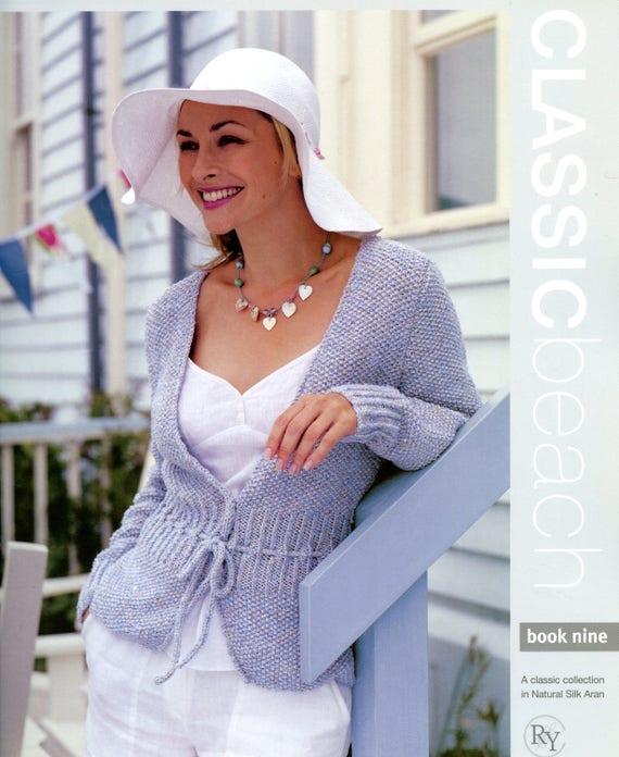 Rowan Classic Beach Book 9 Martin Storey Knitting Patterns Etsy