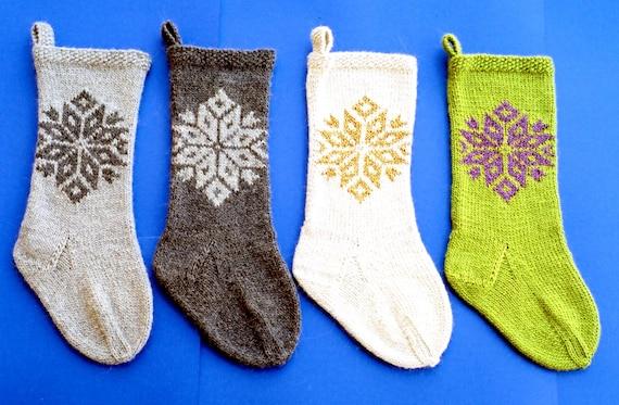 Ann Norling Knitting Pattern 1020 Snowflake Stocking Quick Etsy