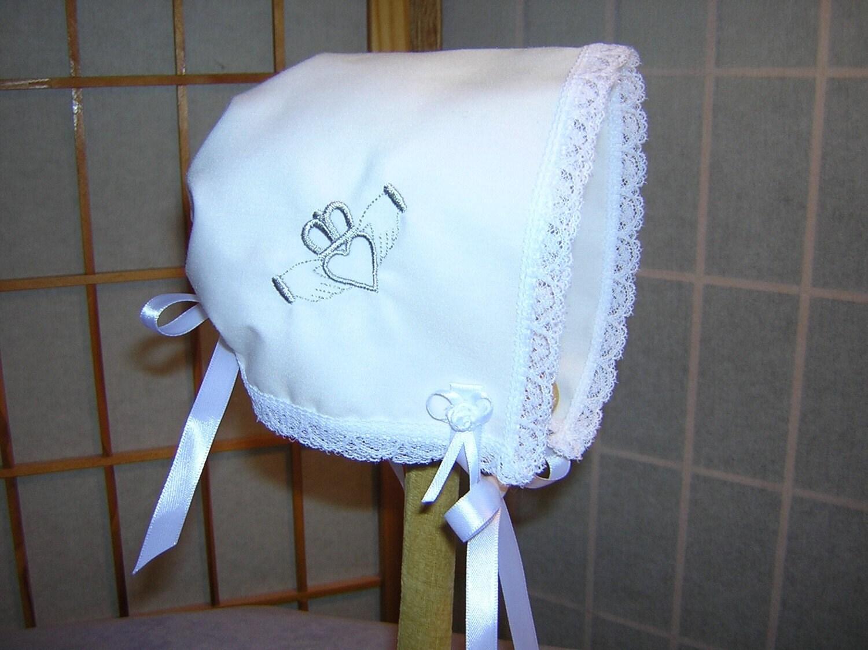 Irish Baby Bonnet Brides Wedding Handkerchief Keepsake Etsy